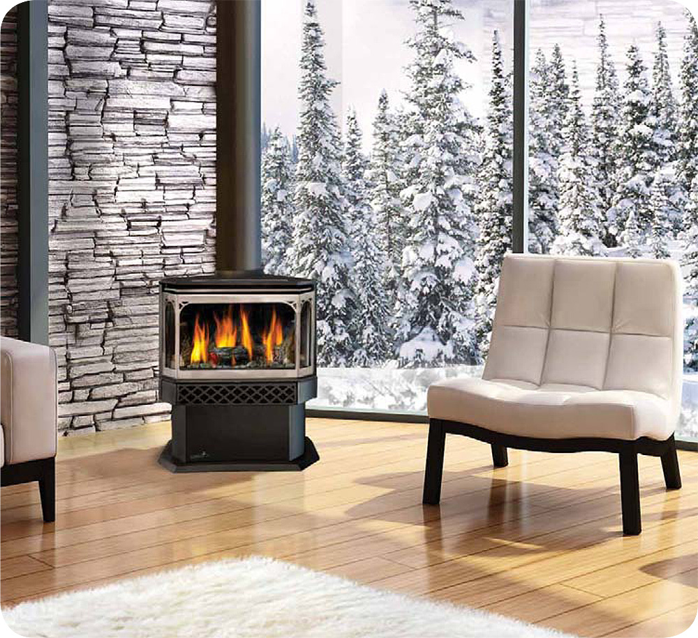gas fireplaces barrie and innisfil heating air conditioning