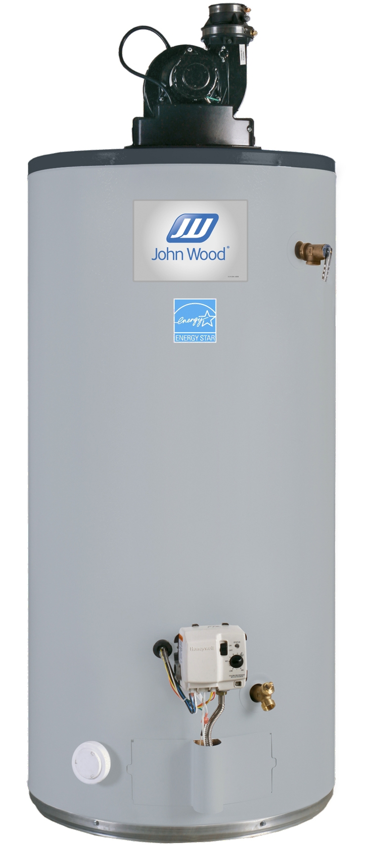 John Wood Gas Power Vented Hot Water Heaters | Services Plus